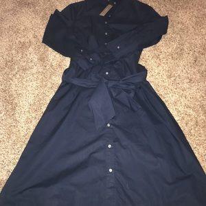 Nwt Jcrew shirt dress